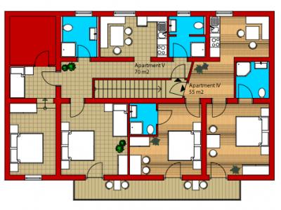 Appartement 5 (4-7 Personen)
